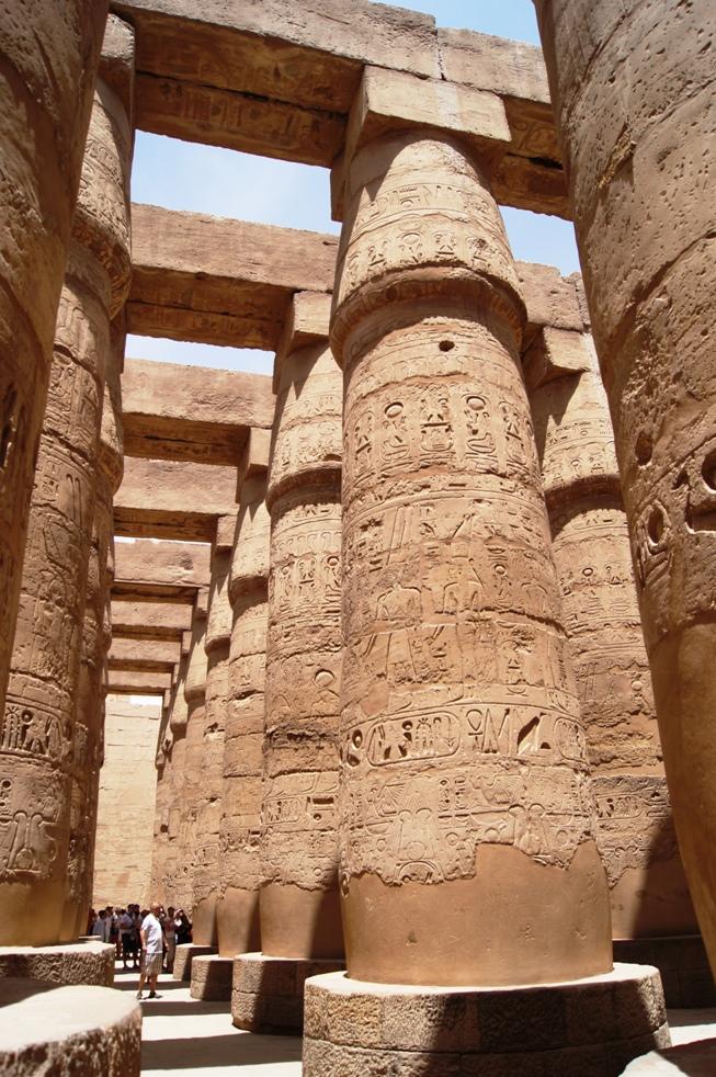 Карнакский храм Луксор
