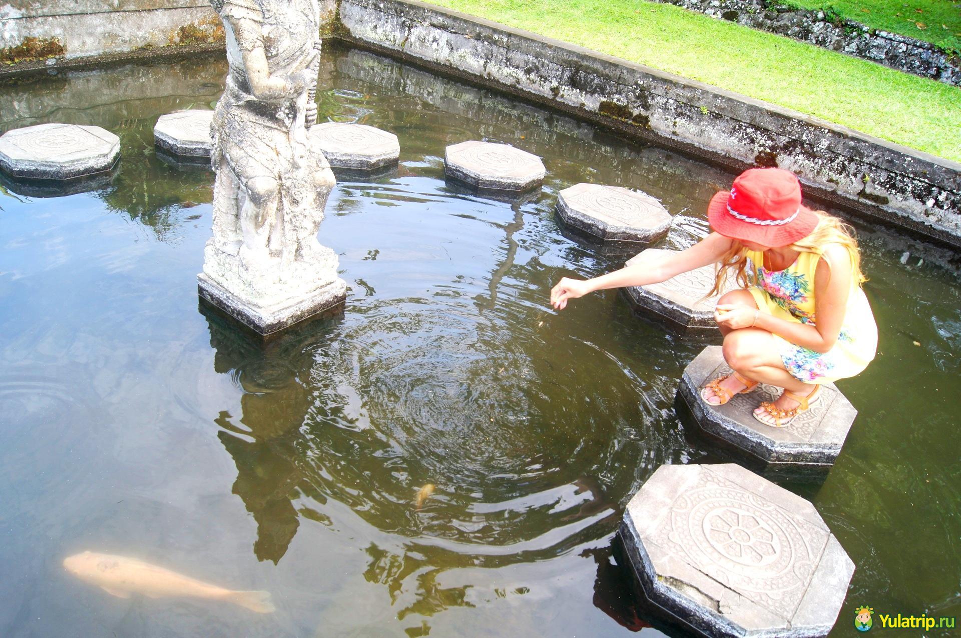 тиртаганга водный дворец бали