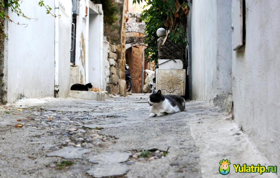 старый город родос греция
