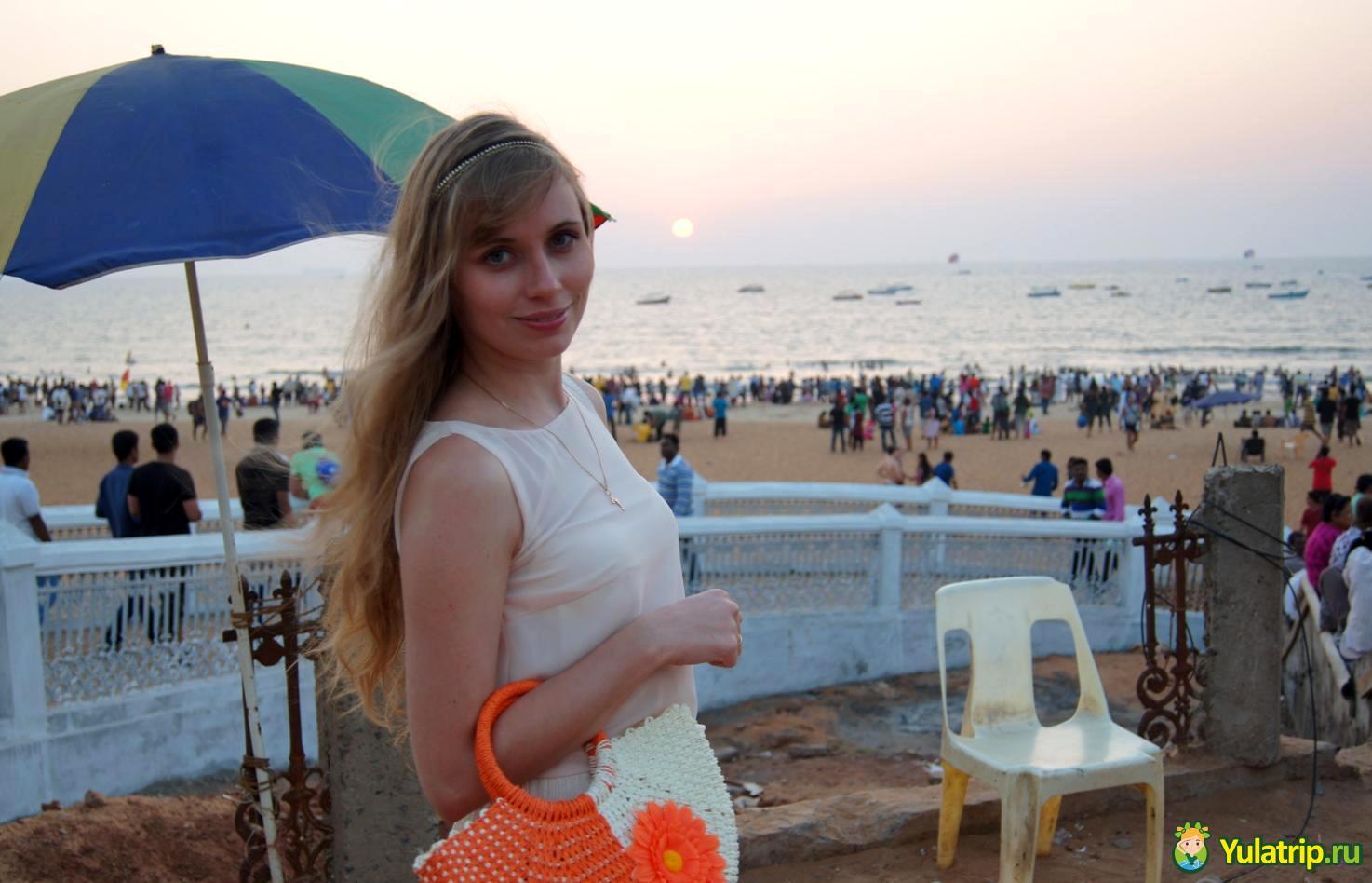 Калангут пляж в Гоа Индия