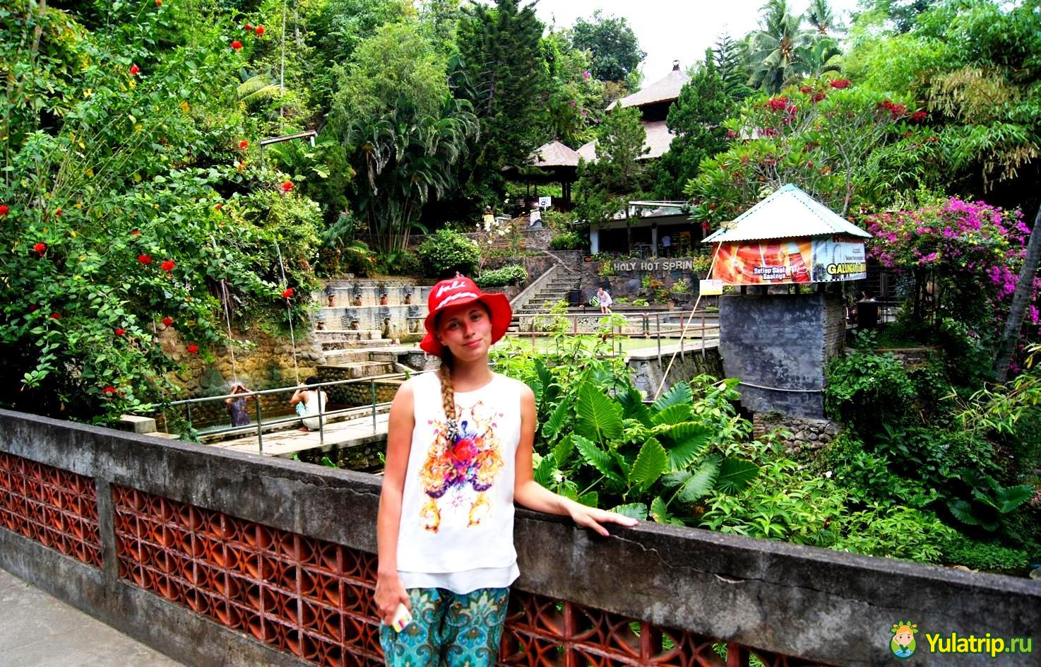 горячие источники в сингарадже бали индонезия