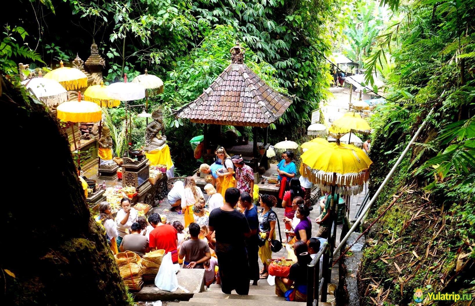 святые источники себату бали индонезия