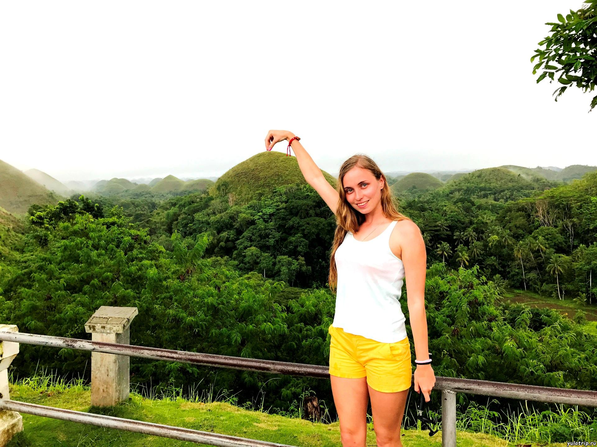 шоколадные холмы бохол филиппины