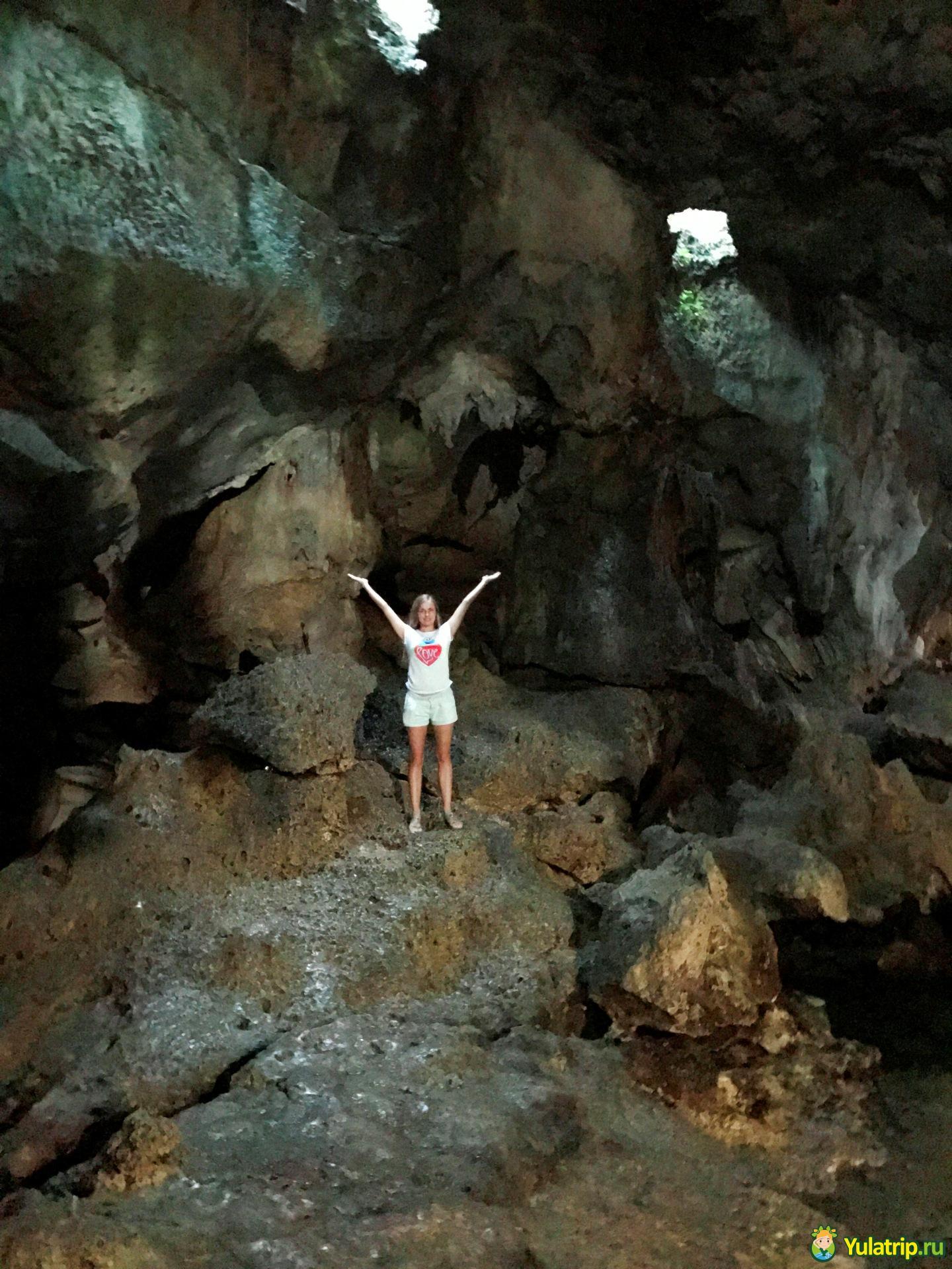 пещера хинагданан бохол филиппины