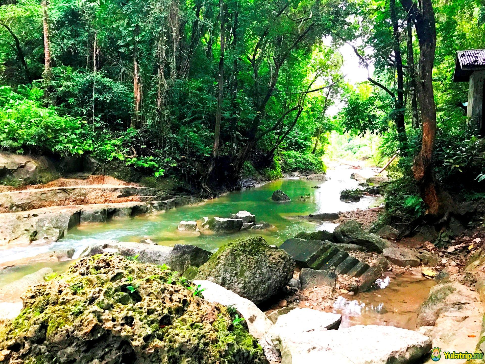 маг асо водопад бохол филиппины