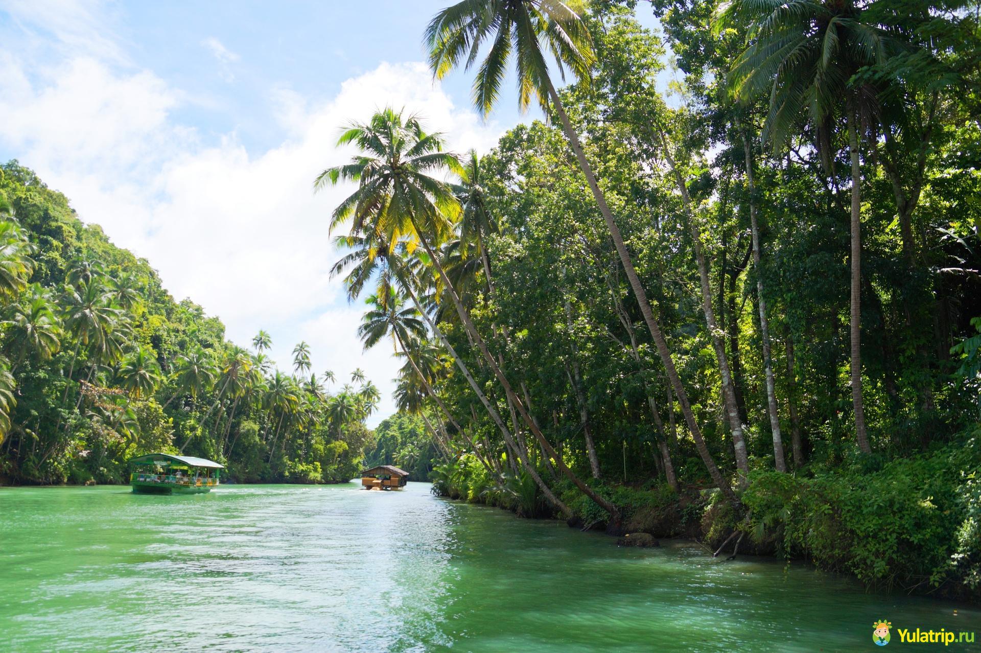 экскурсия по реке лобок филиппины