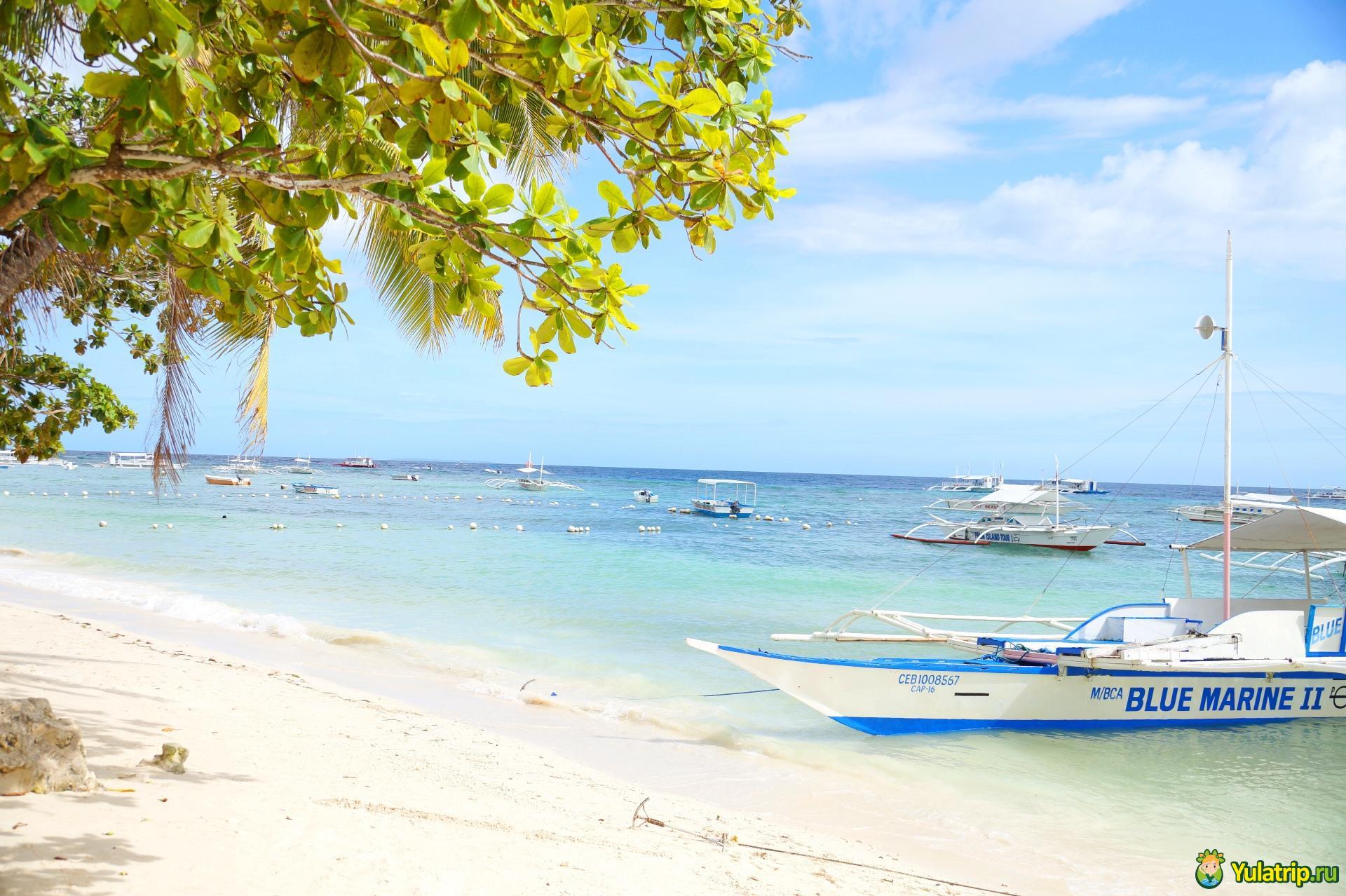 алона бич панглао бохол филиппины