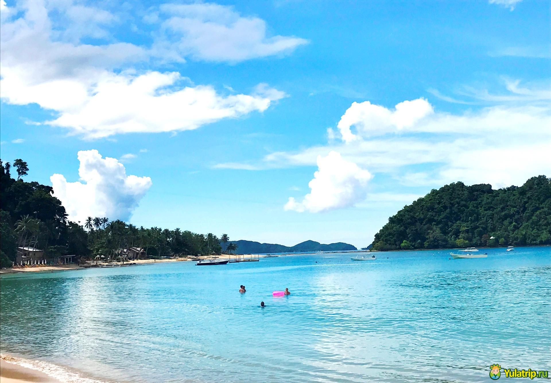 Лас Кабанас пляж эль нидо филиппины