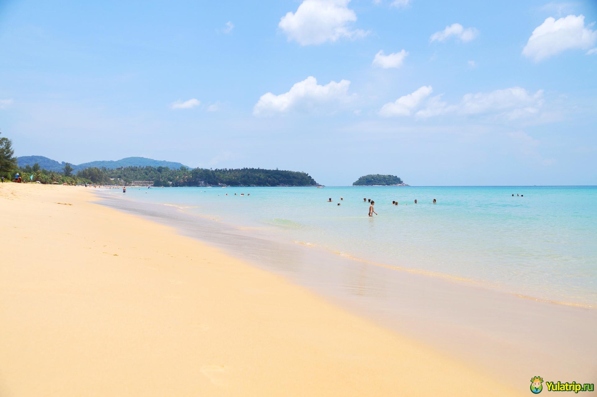 Пляж карон таиланд фото