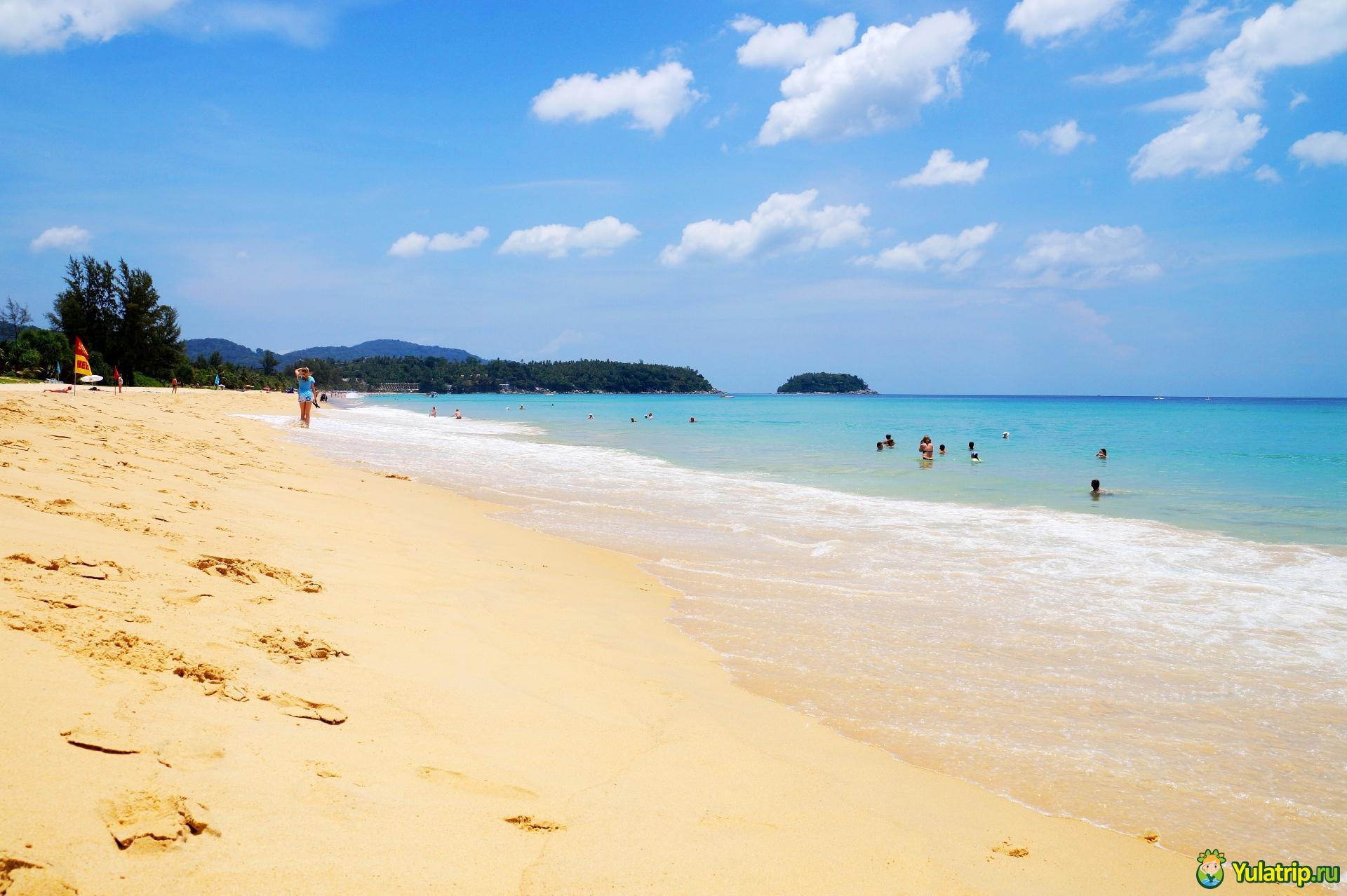 карон пляж пхукет karon тайланд