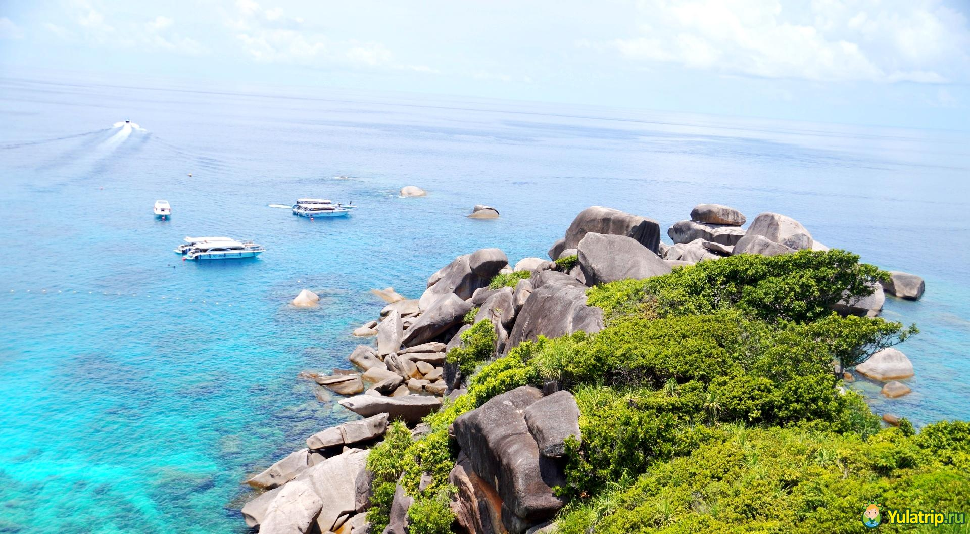 симиланские острова пхукет тайланд