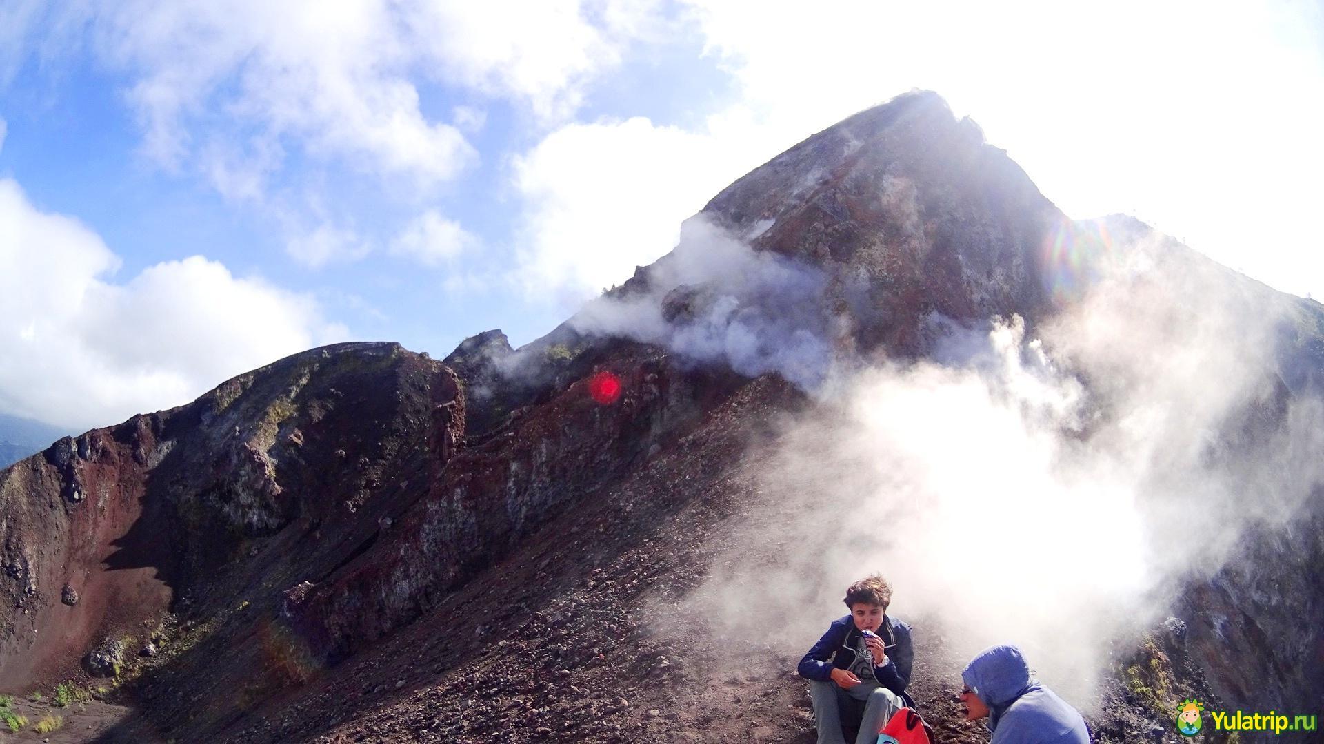 вулкан батур бали