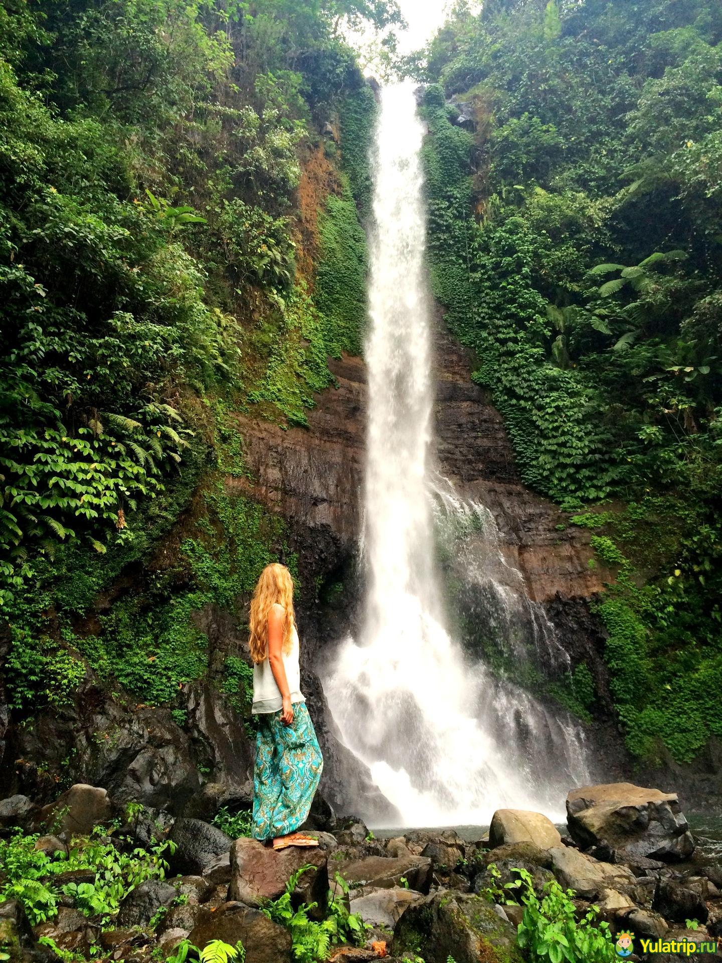 гит гит водопад бали