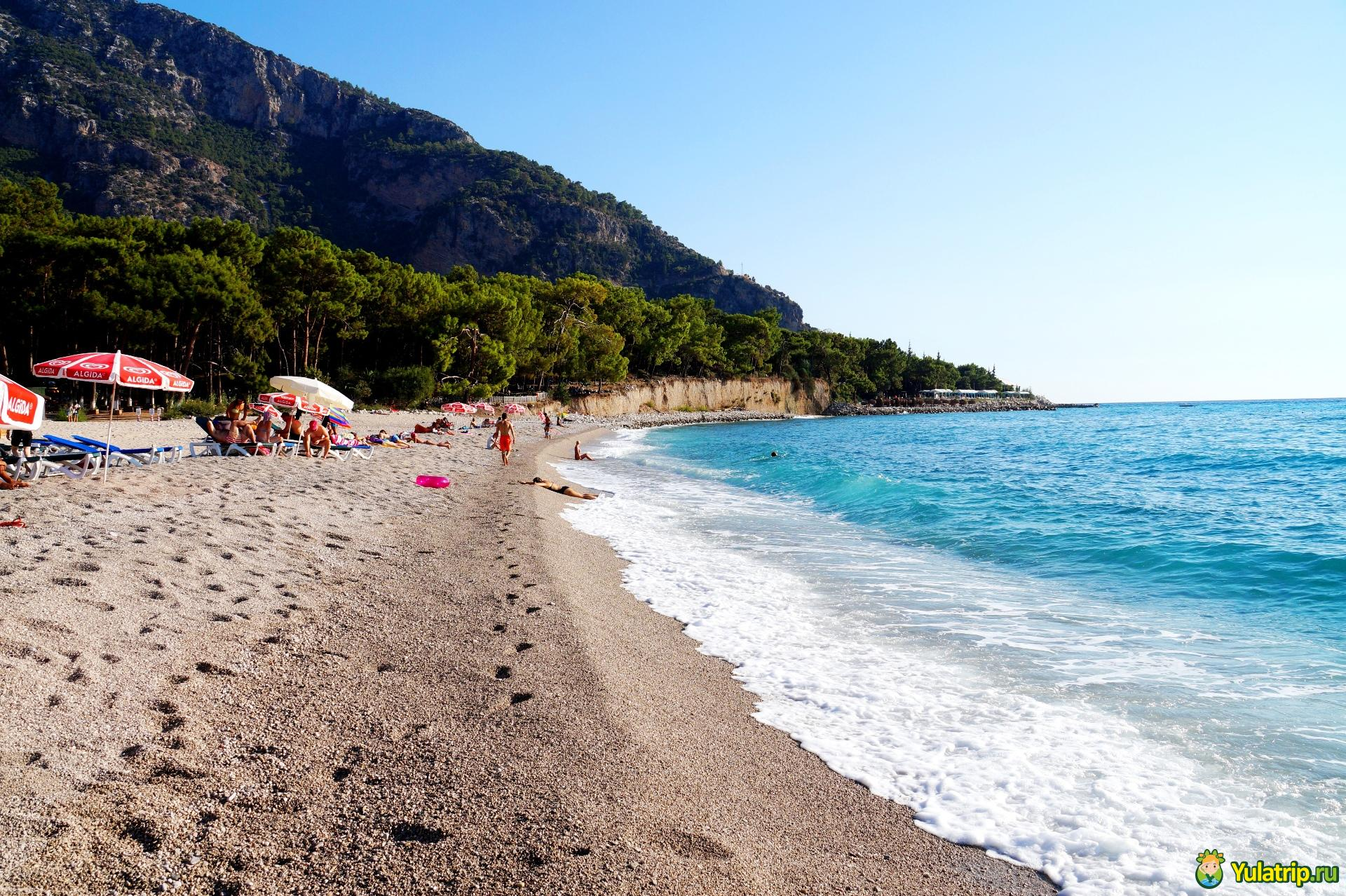 кидрак пляж олюдениз турция