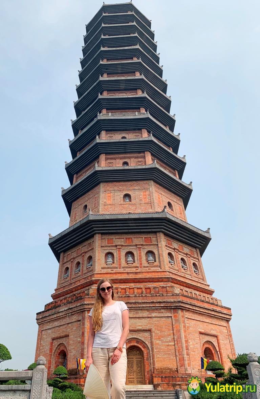 бай динь пагода нинь бинь вьетнам
