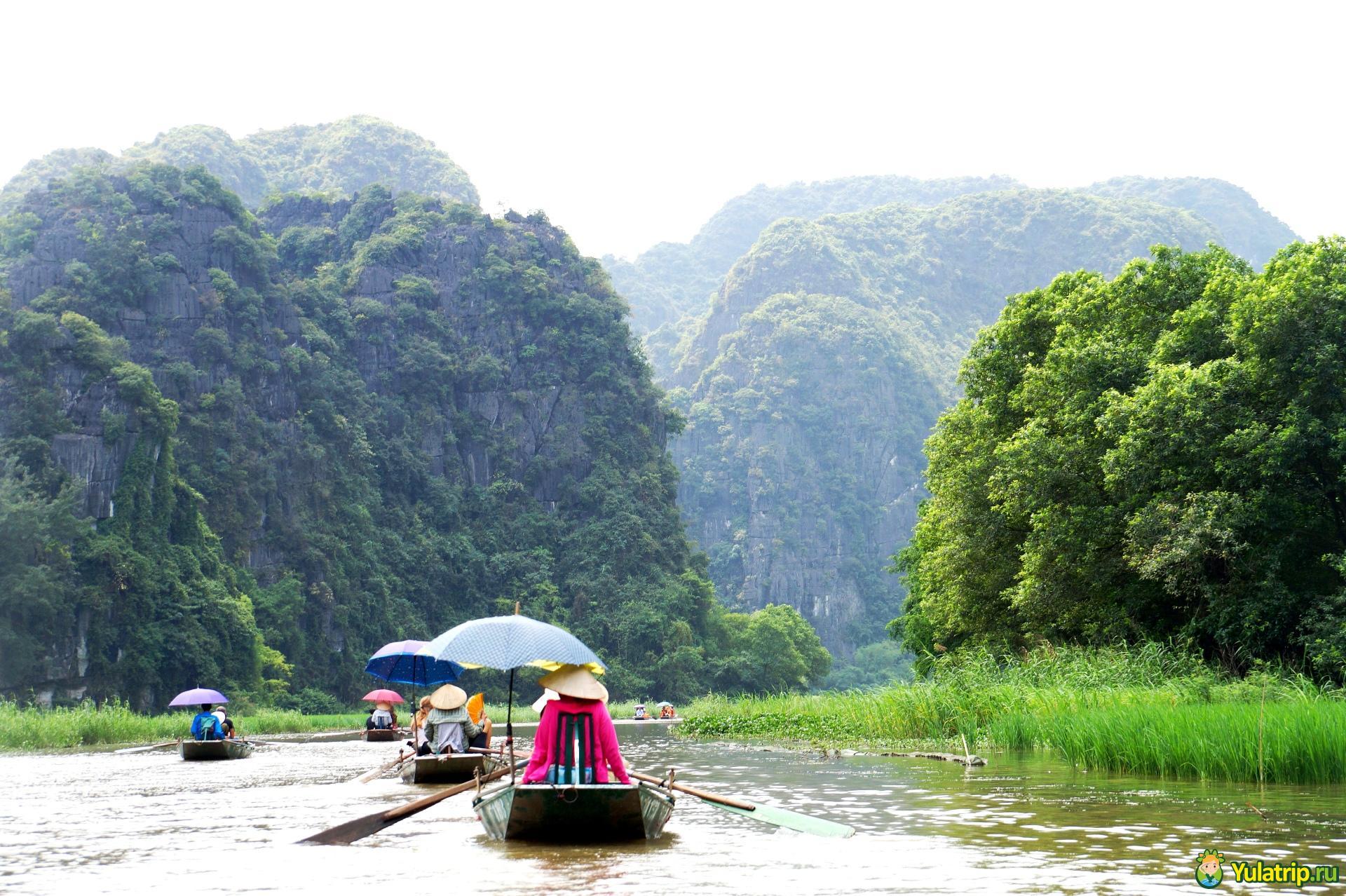 Tam Coc Нинь Бинь вьетнам