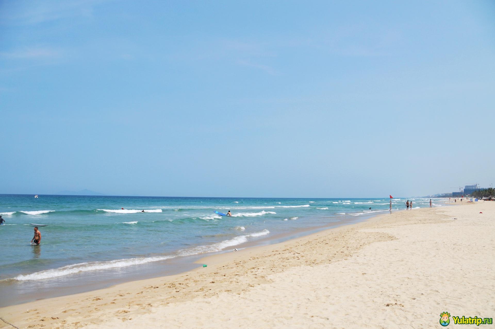 пляжи дананга вьетнам