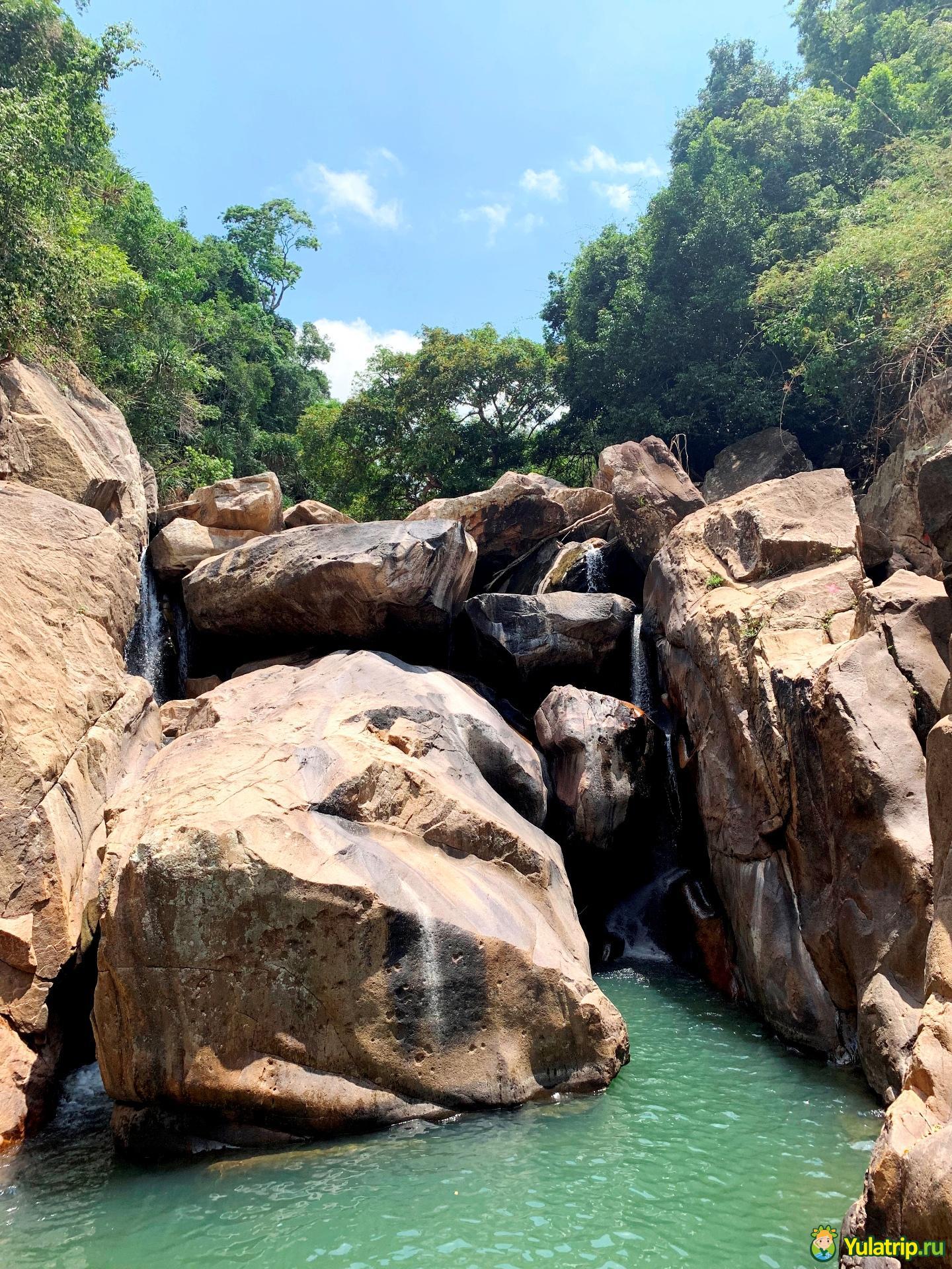 бахо водопады нячанг вьетнам