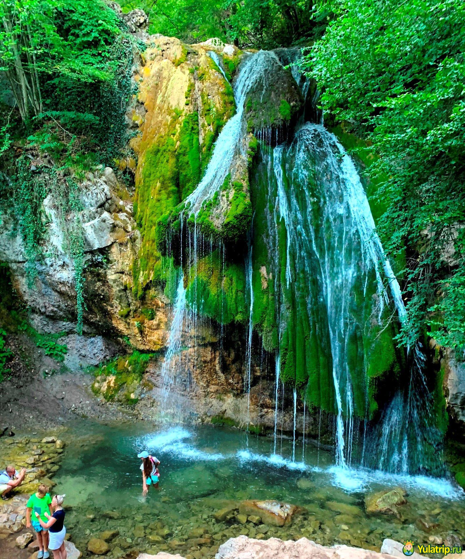 водопад джур джур крым